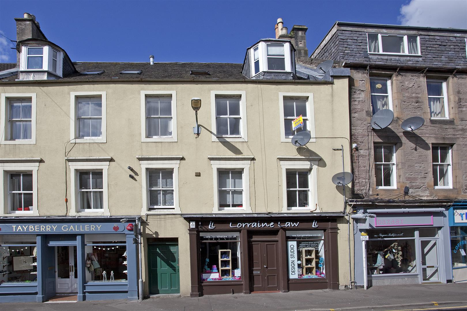 Flat 3, 17, Princes Street, Perth, Perthshire, PH2 8NG, UK